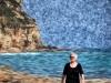 Eva på stranden